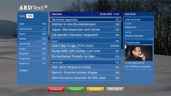 Hbbtv Smart Tv Hbbtv Einführung Geräte Und Kosten